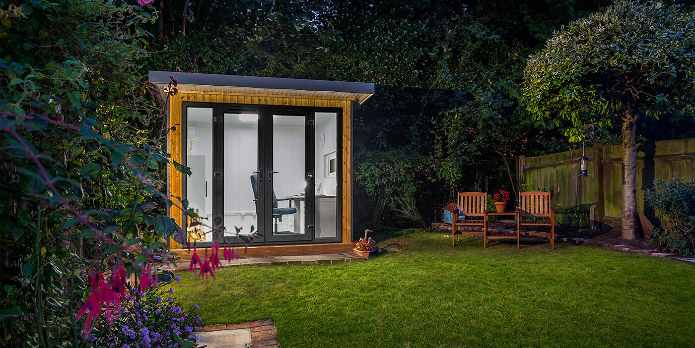 Garden studio from the leading supplier of garden rooms for Garden studio uk